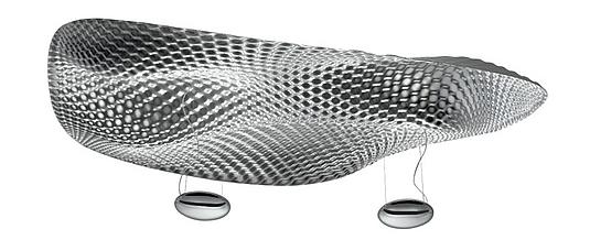 cosmic angel von ross lovegrove f r artemide. Black Bedroom Furniture Sets. Home Design Ideas