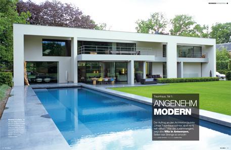 Angenehm modern for Traumhaus modern